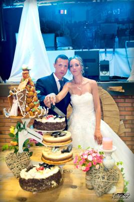 photographe mariage  gâteau