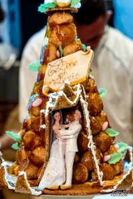 photographe mariage soirée et gâteau