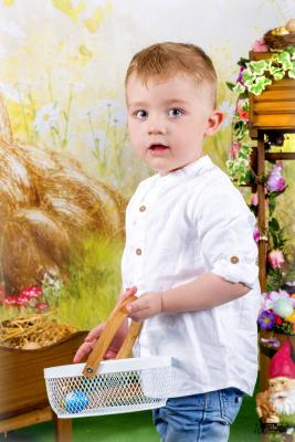 séance photos de pâques