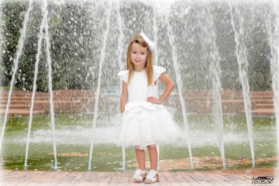 Séance photos petite princesse