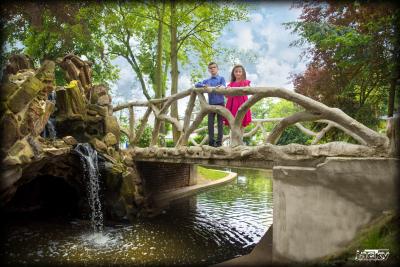 Séance photos  dans un parc