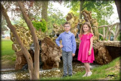Séance photos frère et sœur