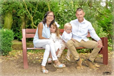 Séance photos couple avec enfants