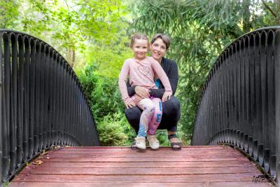 Séance photos maman enfants